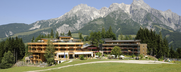 Timber hotel Forsthofalm